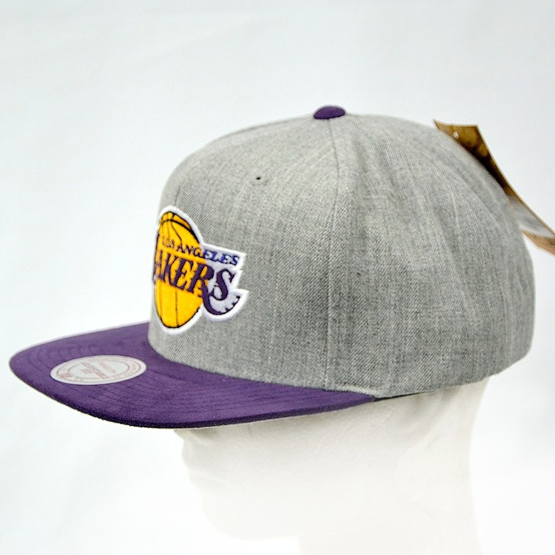 Los Angeles Lakers Nba Mitchell And Ness Gorra 100% Original ... e8343d722ae