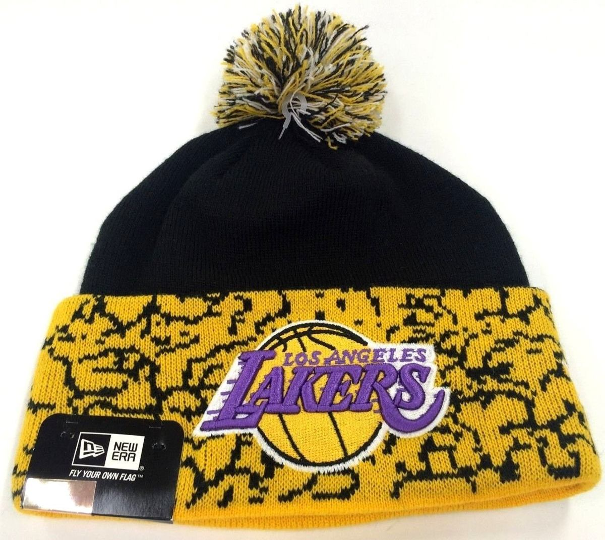 f40dd3e7ca812 Los Angeles Lakers New Era Beanie Gorro Lana Pom Nba -   15.000 en ...