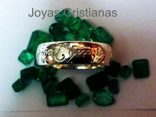 los anillos oro