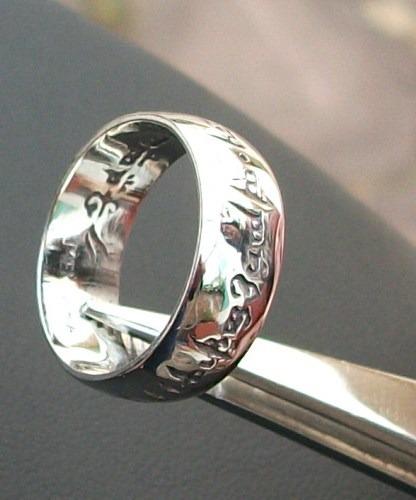 los anillos plata