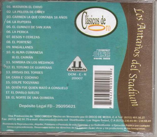 los antaños del stadium cd original nuevo  un tesoro musical
