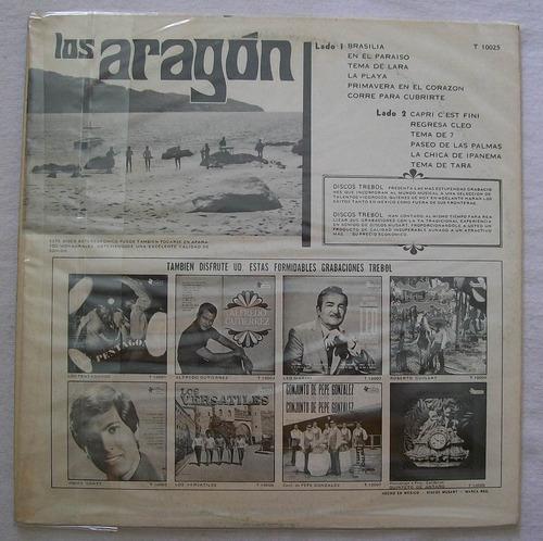 los aragon. brasilia. disco l.p. musart 1969