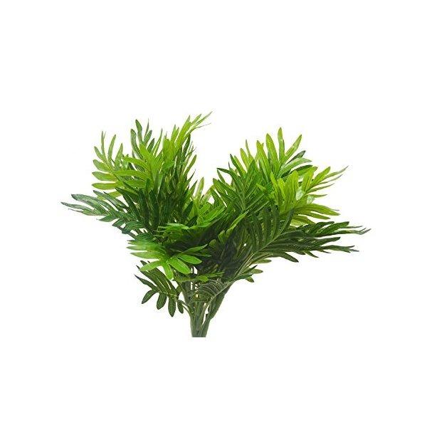 Los arbustos artificial 2pcs palmera artificial de - Palmeras de plastico ...