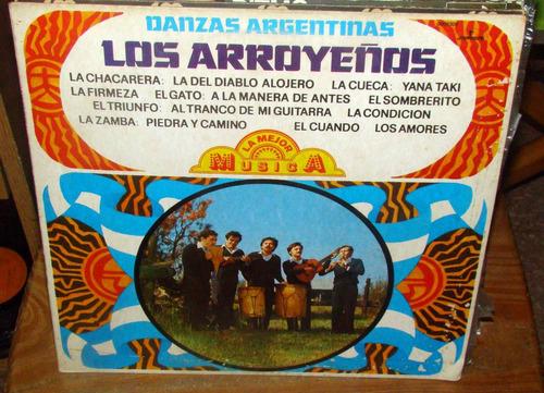 los arroyeños danzas argentinas lp argentino / kktus