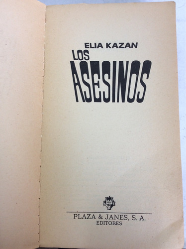los asesinos. elia kazan