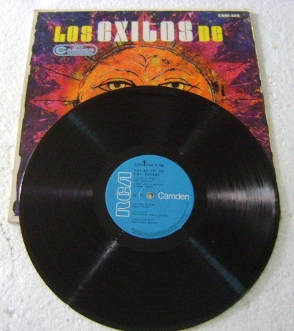 los astros / los éxitos de... 1 disco lp vinilo