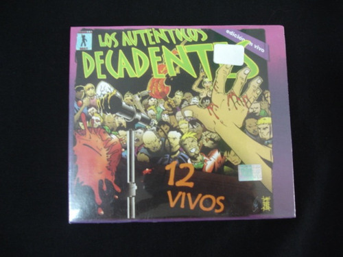 los autenticos decadentes cd+dvd