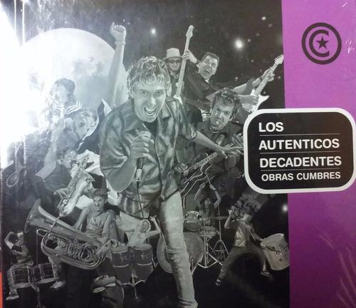 los autenticos decadentes obras cumbres - cd + libro
