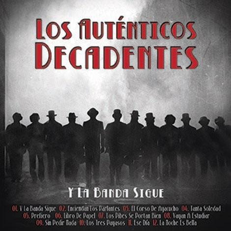los autenticos decadentes y la banda sigue cd + dvd
