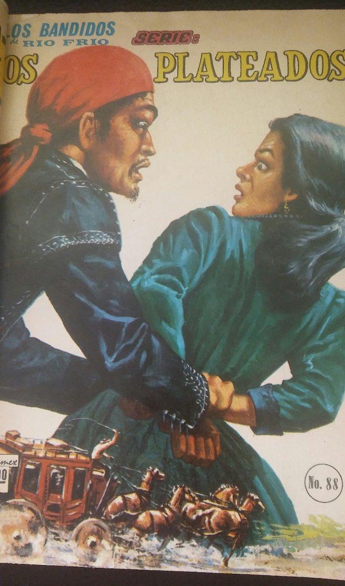 Poquito y bonito. Los-bandidos-del-rio-frio-los-plateados-editormex-1966-D_NQ_NP_609026-MLM26503137646_122017-F
