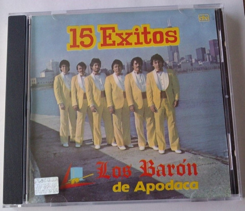 los baron de apodaca 15 exitos cd rarisimo 1989  musart