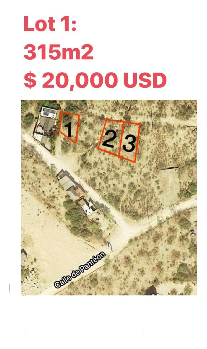 los barriles lots  amazing opportunity!