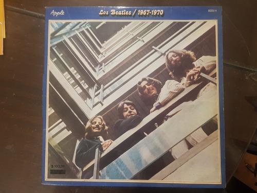 los beatles 1967/1970 x 2 lp disco vinilo  muy buen estado