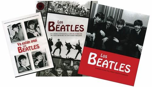 los beatles cronica fotografica - libro + dvd - parragon dis
