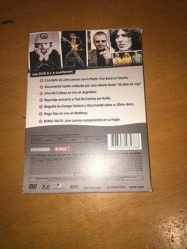 los beatles por badía 2 dvds originales - rosario