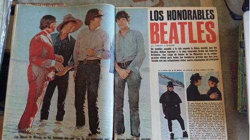 los beatles / revista 7 días / año 1965