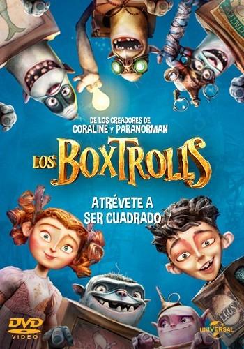 los boxtrolls pelicula en dvd