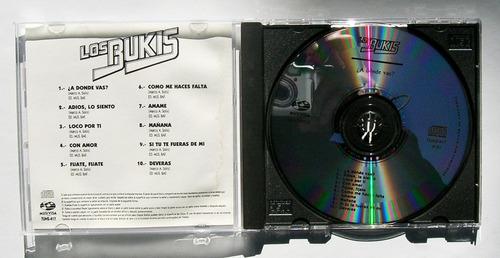 los bukis a donde vas? cd mexicano discos musica futura 1991