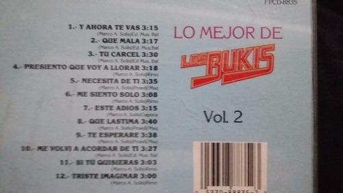 los bukis lo mejor cd balada