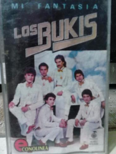 los bukis - mi fantasía (casete original)