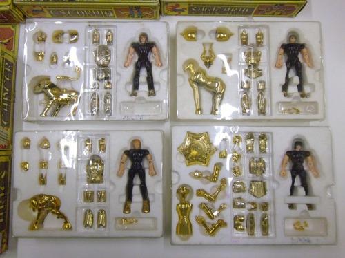 los caballeros del zodiaco bandai, (12 caballeros dorados)