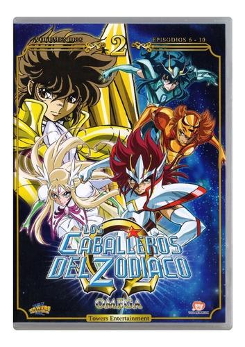 los caballeros del zodiaco omega segundo volumen 2 dos dvd