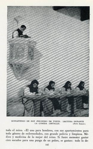 los caballeros encerrados - monjes jerónimos.
