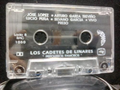 los cadetes de linares - pistoleros famoso (casete original)