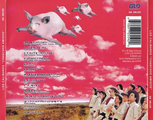 los caligaris - chanchos amigos - cd original 2005 c5