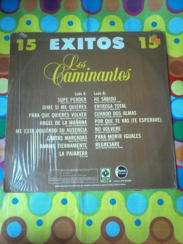 los caminantes lp 15 éxitos 1984