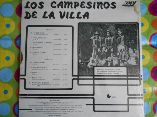 los campesinos de la villa lp el cochinito 1985 r