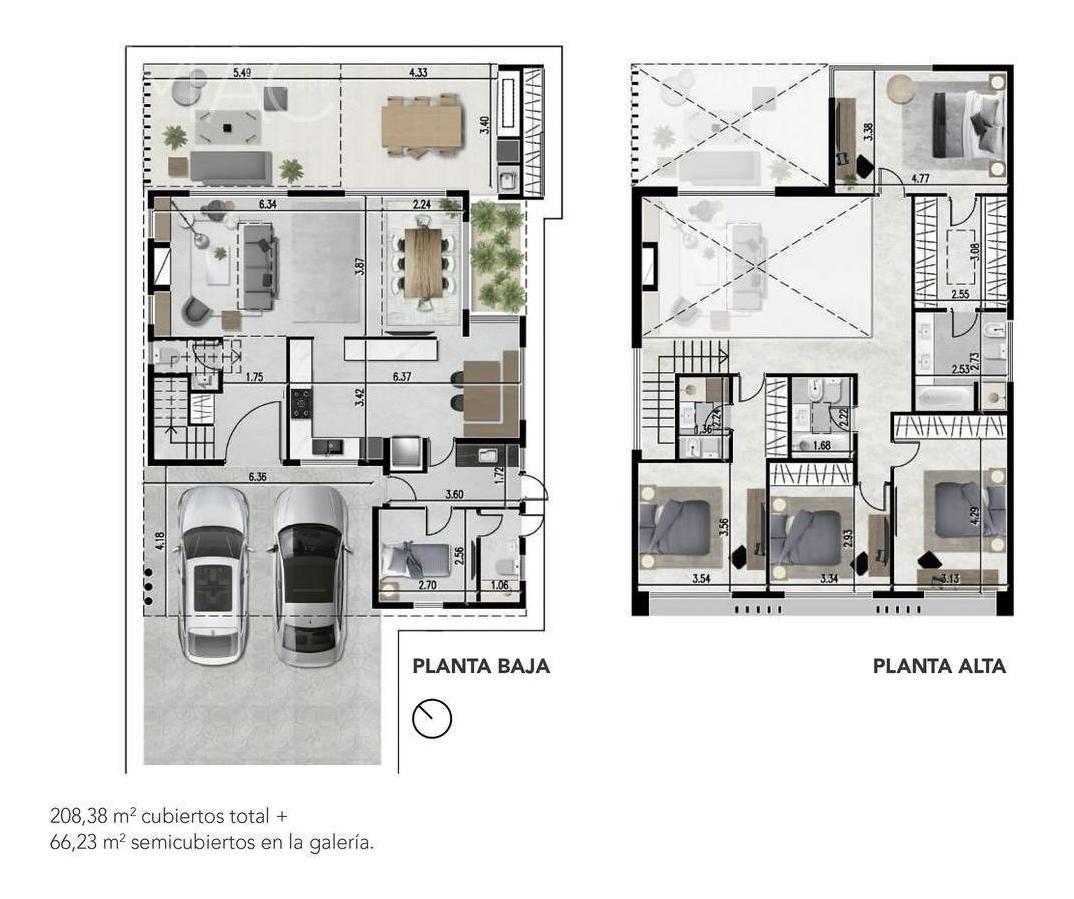 los castaños 4 dorm. suite ppal y suite junior. dep  (102200502)