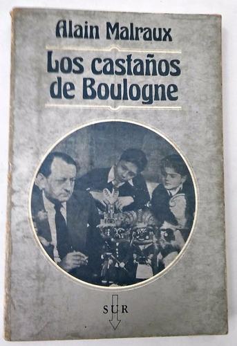 los castaños de boulogne  alain malraux