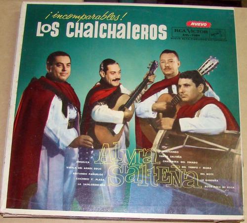 los chalchaleros alma salteña vinilo argentino
