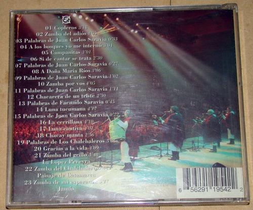 los chalchaleros la noche final cd argentino