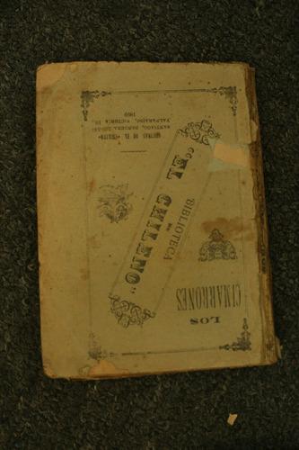 los cimarrones biblioteca de el chileno 1899