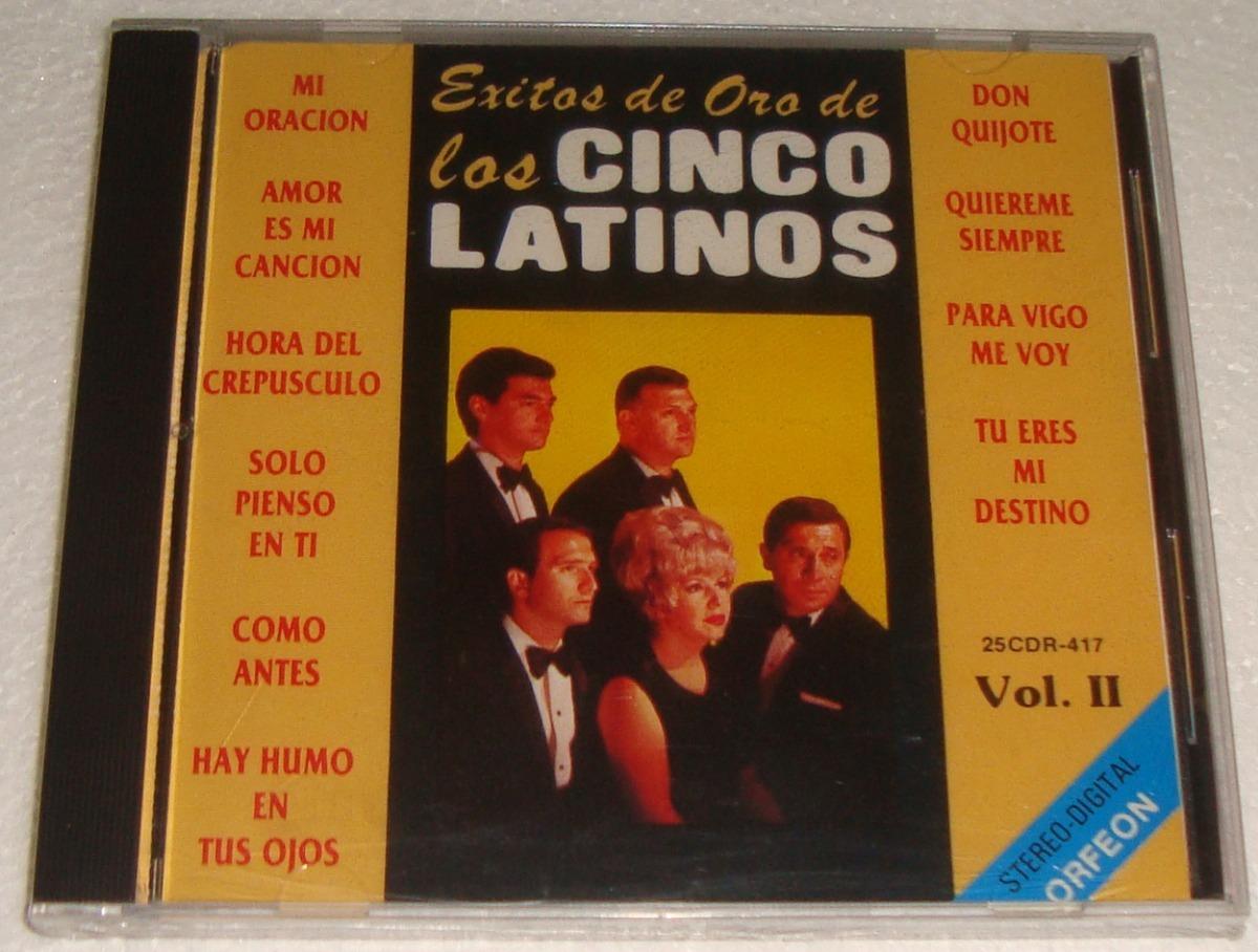1cdce8515e9d Los Cinco Latinos Exitos De Oro Vol.2 Cd Sellado   Kktus -   671