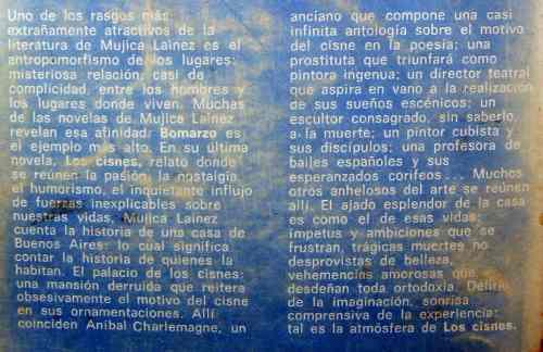 los cisnes, manuel mujica láinez, ed. sudamericana