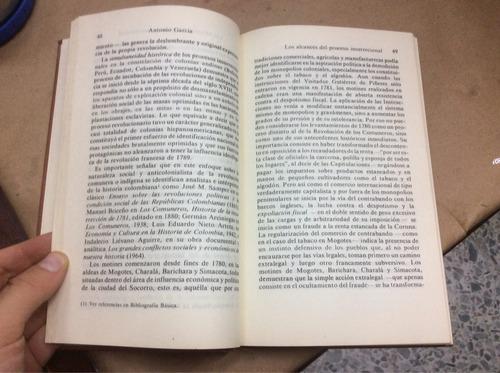 los comuneros en la pre revolución. antonio garcía. historia