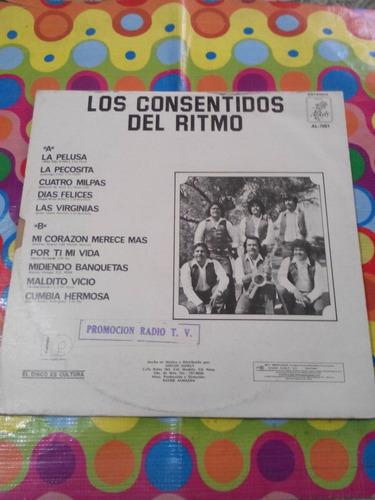 los consentidos del ritmo lp la pelusa 1983