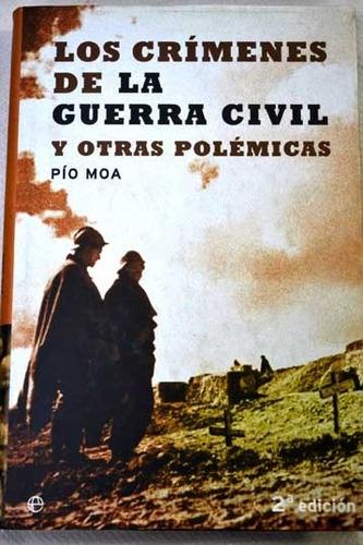 los crímenes de la  guerra civil española pío moa