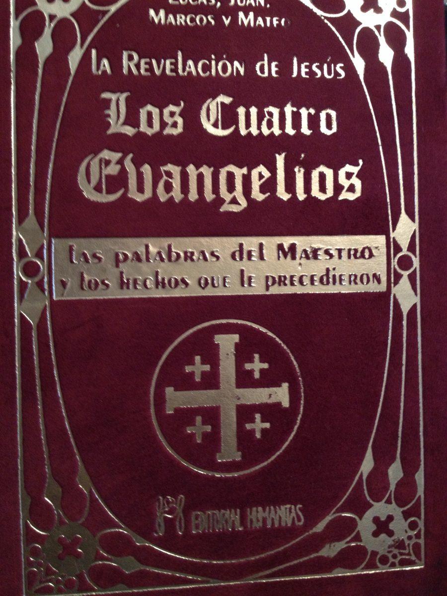 Los Cuatro Evangelios: Lucas Juan Marco Y Mateo - $ 650.00 en ...