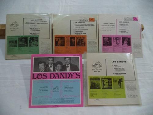 los dandys 5 ep en 45 rpm de coleccion perfecto estado