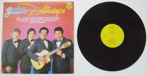 los dandys / gema 1 disco  lp vinil