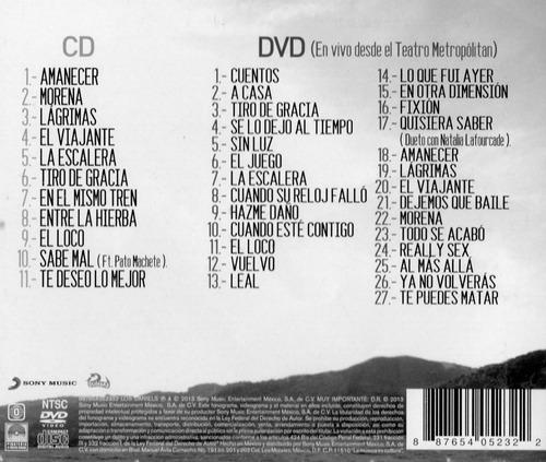 los daniels amanecer disco cd y dvd con 11 canciones