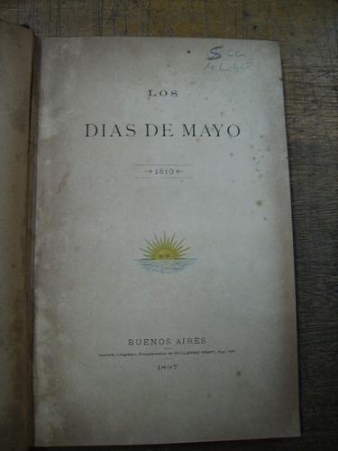 los días de mayo 1810 - dirigida por adolfo carranza