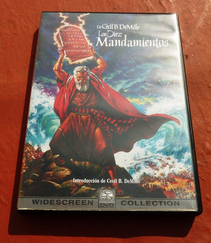 los diez mandamientos de cecil b de mille - widescreen 2 dvd