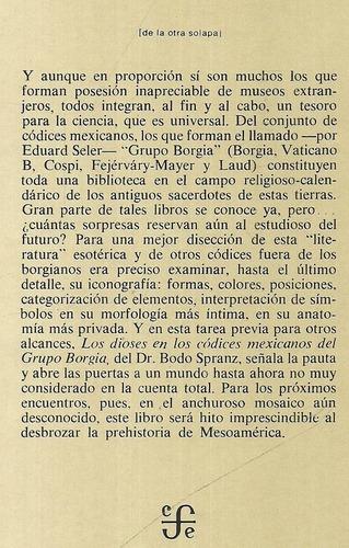 los dioses en los códices mexicanos del grupo borgia. spranz