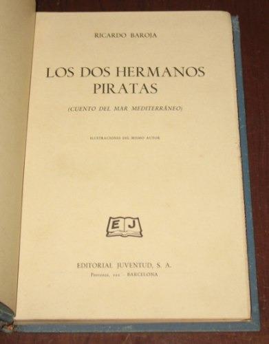 los dos hermanos piratas cuento mediterráneo ricardo baroja