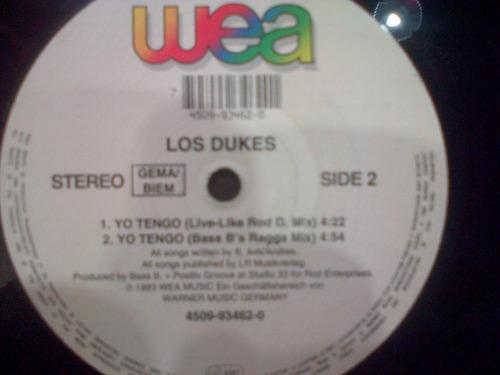 los dukes lp vinilo maxi ( yo tengo ) dialogomusical